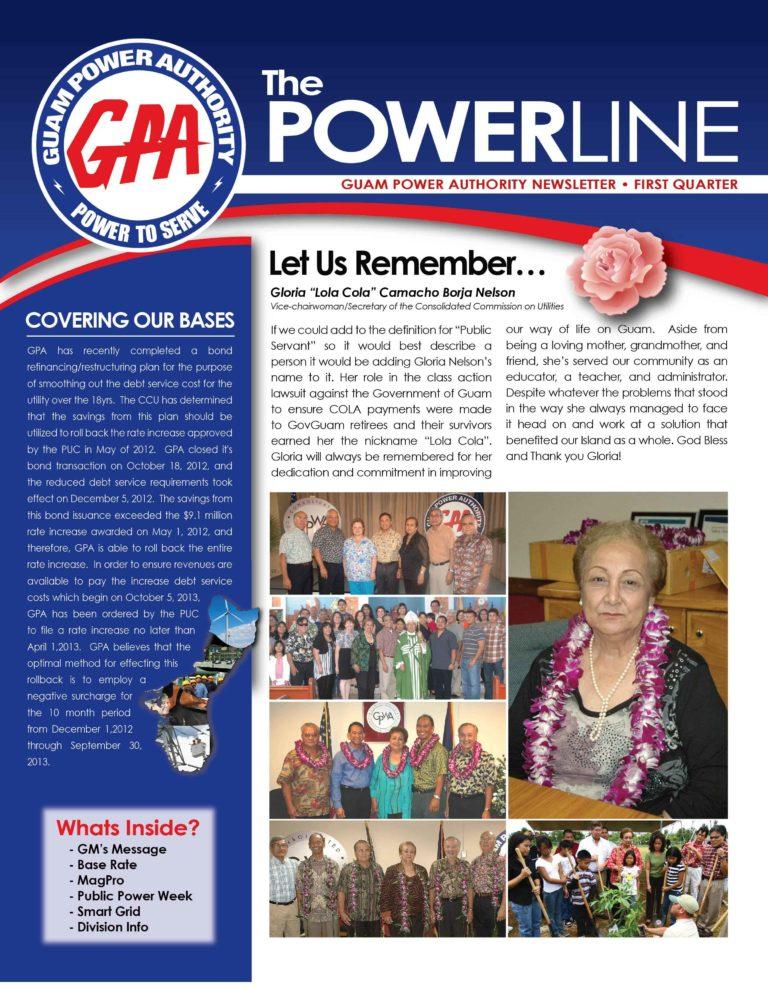 GPA Powerline News Letter