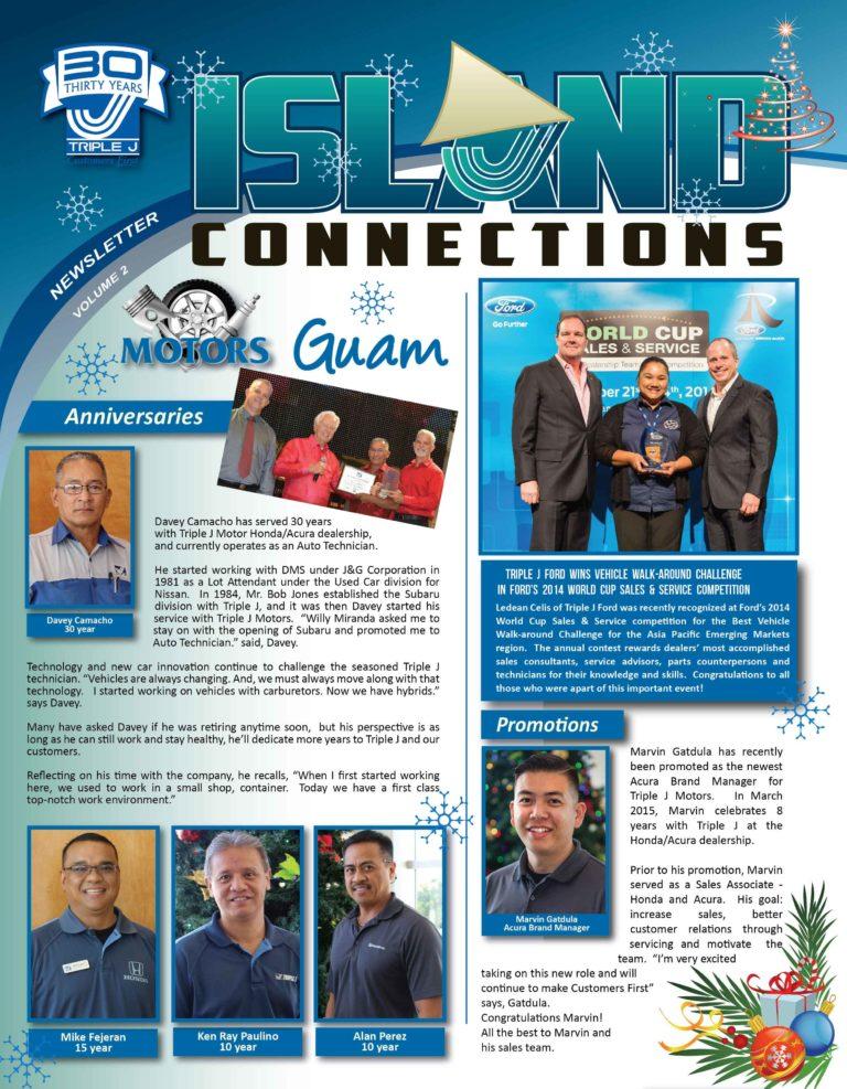 Triple J Quarterly Newsletter